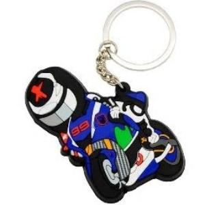 Porte-clés motard racing