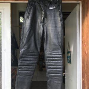 Pantalon cuir moto MQP taille DE34
